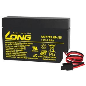 Kung Long WP0.8-12H 12V 0,8Ah Akku mit Molex Stecker