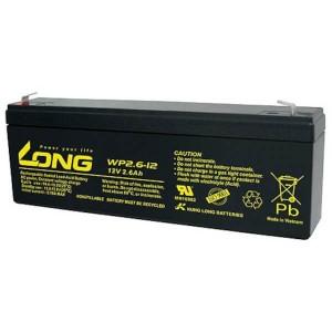 Kung Long WP2.6-12 - 12V 2,6Ah Akku / AGM Batterie