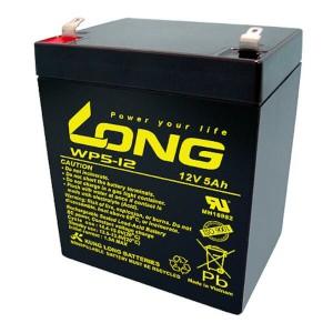 Kung Long WP5-12 12V 5Ah Akku mit 6,3 mm Flachstecker