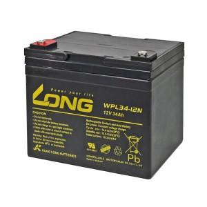 Kung Long WPL34-12N 12V 34Ah Akku AGM Longlife