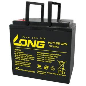 Kung Long WPL55-12N 12V 55Ah Akku AGM Longlife