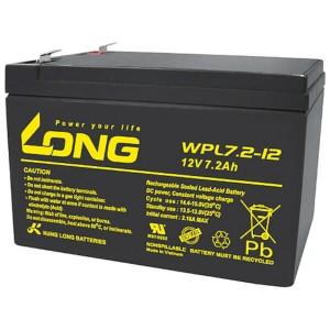 Kung Long WPL7.2-12 12V 7,2Ah Akku AGM Longlife