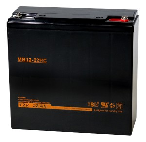 Sun Battery MB12-22HC 12V 22Ah Bleiakku