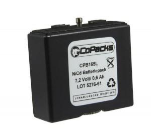 Funkgeräte Akku für Bosch HFG85/89/165/169/455/459 7,2V / 0,6Ah