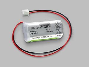 Notbeleuchtung Akku 4,8 V / 800 mAh passend für FiSCHER AW-0480-0080-AAA-NM-01