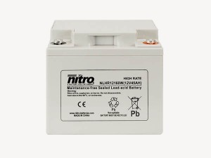nitro NLHR12160W Batterie / Akku - 12V 45Ah AGM High Rate