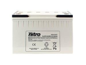 nitro NLHR12430W Batterie / Akku - 12V 100Ah AGM High Rate