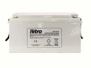 nitro NLHR12510W Batterie / Akku - 12V 150Ah AGM High Rate