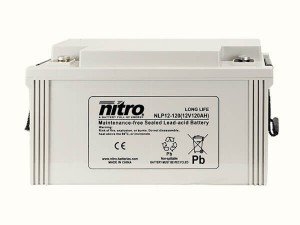 nitro NLP12-120 Batterie / Akku - 12V 120Ah AGM Long Life
