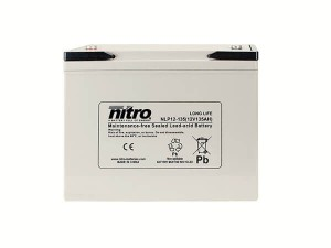 nitro NLP12-135 Batterie / Akku - 12V 135Ah AGM Long Life