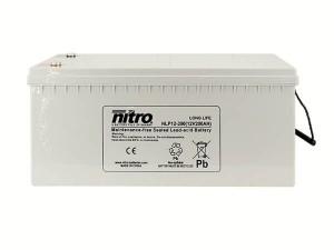 nitro NLP12-200 Batterie / Akku - 12V 200Ah AGM Long Life