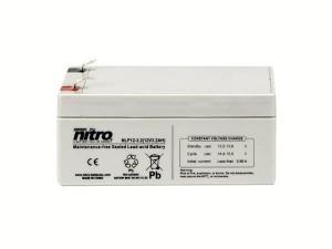 nitro NLP12-3.2 Batterie / Akku - 12V 3,2Ah AGM Long Life