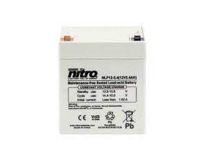 nitro NLP12-5.4 Batterie / Akku - 12V 5.4Ah AGM VdS