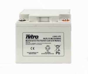 nitro NLP12-55 Batterie / Akku - 12V 55Ah AGM Long Life