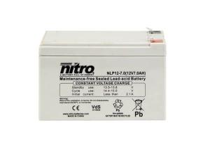 nitro NLP12-7.0 Batterie / Akku - 12V 7Ah AGM VdS