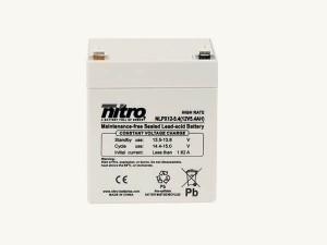 nitro NLPX12-5.4 Batterie / Akku - 12V 5,4Ah AGM High Rate
