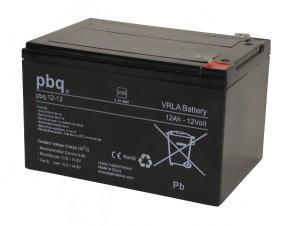 pbq 12-12 AGM Bleiakku - 12V 12Ah VdS Allzweckbatterie