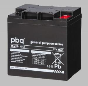 pbq 28-12 T2 AGM Bleiakku - 12V 28Ah Allzweckbatterie