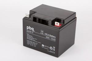 pbq 40-12 AGM Bleiakku - 12V 40Ah VdS Allzweckbatterie