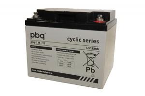 pbq C38-12 AGM Bleiakku - 12V 38Ah zyklenfest