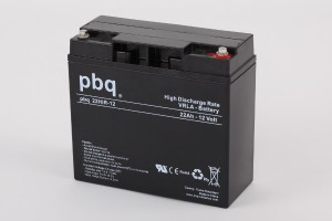pbq 22HiR-12 AGM Bleiakku - 12V 22Ah High Rate-Batterie