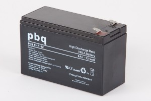 pbq HR9-12 / 9HR-12 AGM Bleiakku - 12V 9Ah High Rate-Batterie