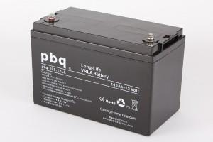 pbq L100-12 / 100-12LL AGM Bleiakku - 12V 100Ah Long Life-Batterie