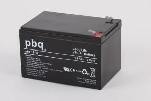 pbq L12-12 / 12-12L AGM Bleiakku - 12V 12Ah Long Life-Batterie