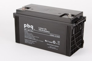 pbq L120-12 / 120-12LL AGM Bleiakku - 12V 120Ah Long Life-Batterie
