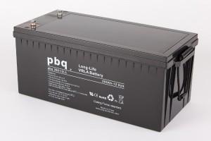pbq L200-12 / 200-12LL AGM Bleiakku - 12V 200Ah Long Life-Batterie