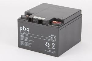 pbq L28-12 / 28-12LL AGM Bleiakku - 12V 28Ah Long Life-Batterie
