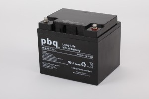 pbq L40-12 / 40-12LL AGM Bleiakku - 12V 40Ah Long Life-Batterie