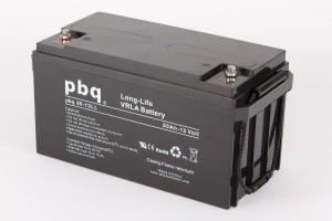 pbq L80-12 / 80-12LL AGM Bleiakku - 12V 80Ah Long Life-Batterie