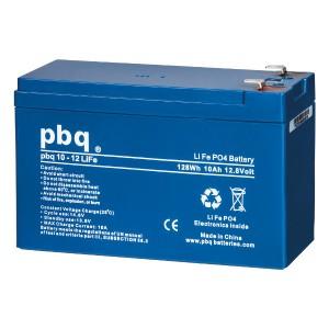 pbq 10-12Life LiFePO4 Batterie - 12,8V 10Ah Lithium-Ferrophosphat-Akku