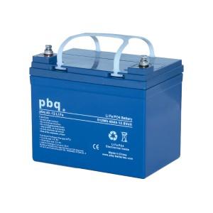 pbq LiFe40-12H / 40-12Life LiFePO4 Batterie - 12,8V 40Ah Lithium-Ferrophosphat-Akku