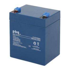 pbq LiFe 5-12 LiFePO4 Batterie - 12,8V 5Ah Lithium-Ferrophosphat-Akku