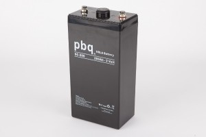 pbq SC-200 AGM Bleiakku - 2V 200Ah Single Cell Monoblock