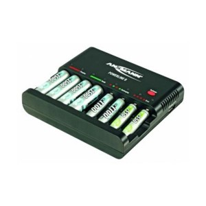 Ansmann Ladegerät Powerline 8 für NiMH / NiCd Micro AAA und Mignon AA Akkus