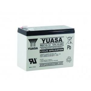 Yuasa REC10-12 12V 10Ah Blei-Akku / AGM Batterie Zyklentyp