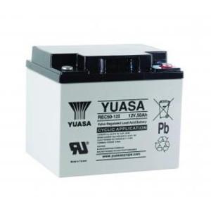Yuasa REC50-12I 12V 50Ah Blei-Akku / AGM Batterie Zyklentyp