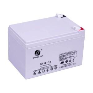 Sacred Sun SP12-12 AGM Batterie 12V 12Ah Long Life Akku