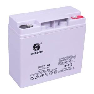 Sacred Sun SP12-18 AGM Batterie 12V 18Ah Long Life Akku