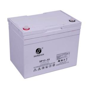 Sacred Sun SP12-33 AGM Batterie 12V 33Ah Long Life Akku