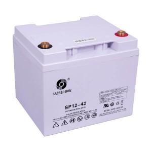 Sacred Sun SP12-42 AGM Batterie 12V 42Ah Long Life Akku