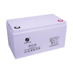 Sacred Sun SP12-65 AGM Batterie 12V 65Ah Long Life Akku
