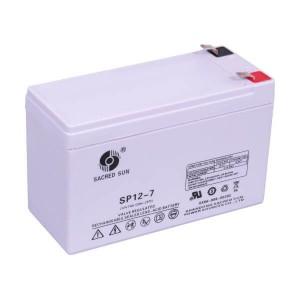 Sacred Sun SP12-7 AGM Batterie 12V 7Ah Long Life Akku