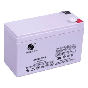 Sacred Sun SP12-9 AGM Batterie 12V 9Ah Long Life Akku