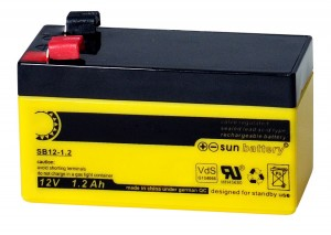 Sun Battery SB12-1.2 12V 1,2Ah Bleiakku