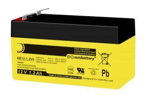 Sun Battery SB12-1.2 12V 1,2Ah Bleiakku VdS