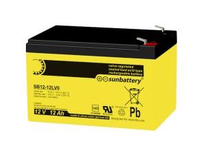 Sun Battery SB12-12L 12V 12Ah Bleiakku VdS
